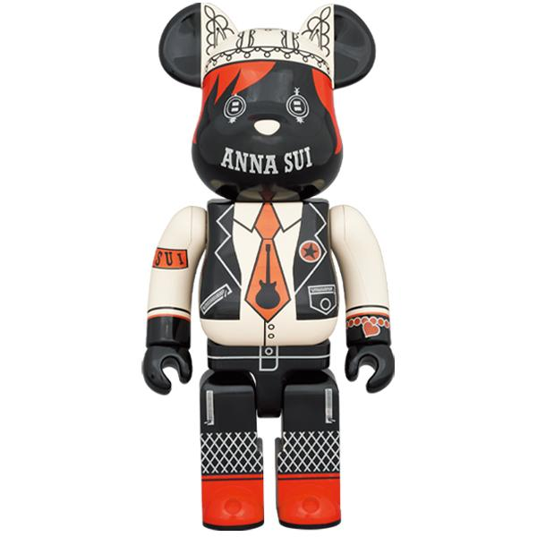 BE@RBRICK ANNA SUI RED & BEIGE 400%