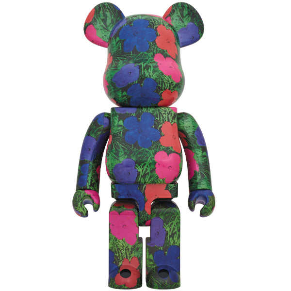 "BE@RBRICK ANDY WARHOL ""Flowers"" 1000%"