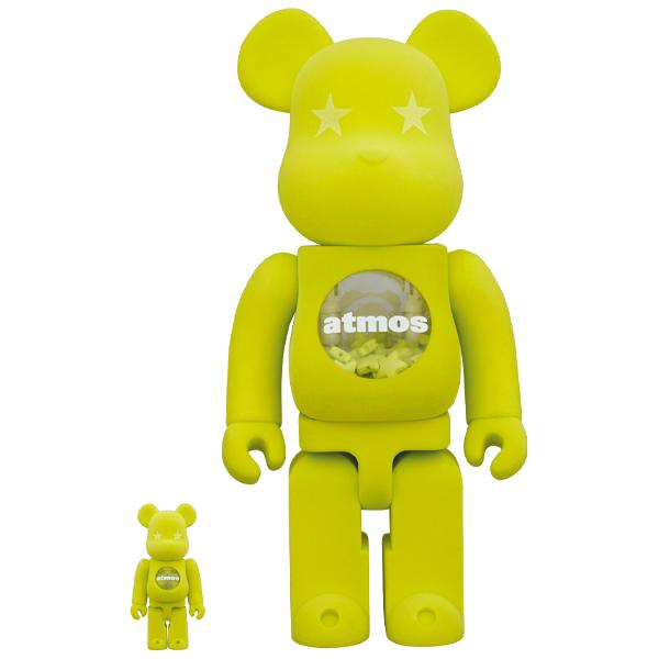 BE@RBRICK atmos × LACOSTE 100% & 400%