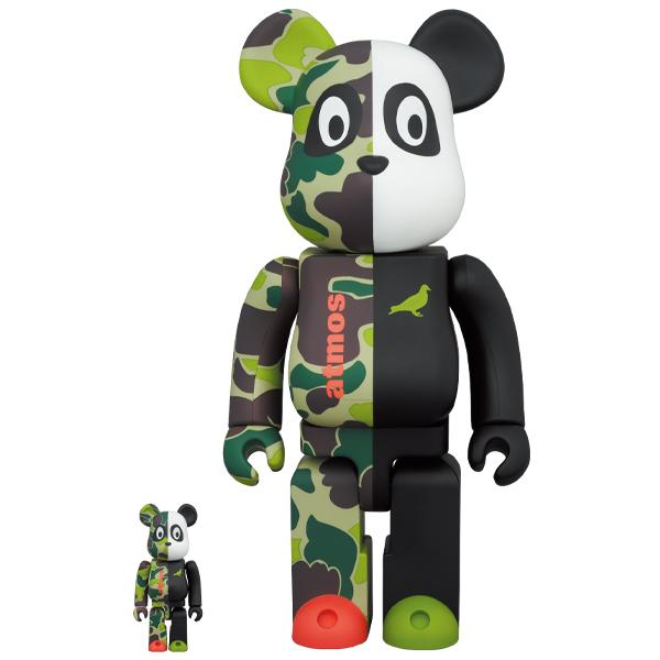 BE@RBRICK atmos × STAPLE #3 100% & 400%