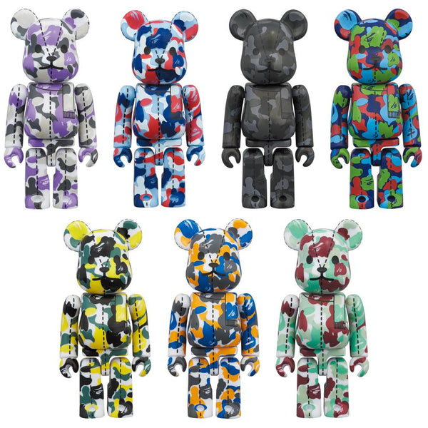 A BATHING APE(R) 28TH ANNIVERSARY BE@RBRICK BAPE CAMO #1