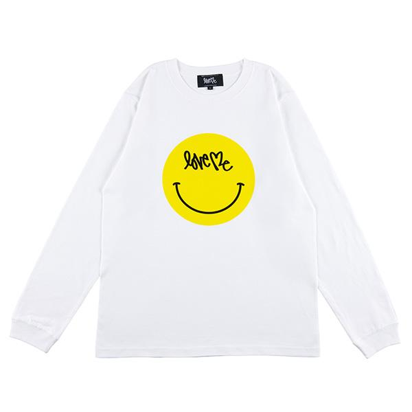 "Curtis Kulig LONG SLEEVE TEE ""SMILE"""