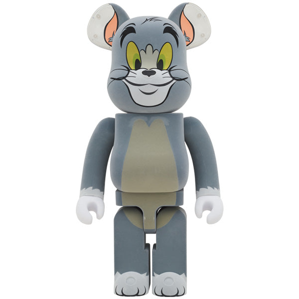BE@RBRICK TOM フロッキー Ver. 1000%(TOM AND JERRY)《2021年7月発売・発送予定》