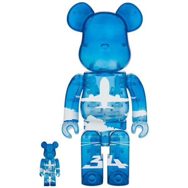 <ANA Original> BE @ RBRICK for ANA ANA Blue Sky 100% & 400%