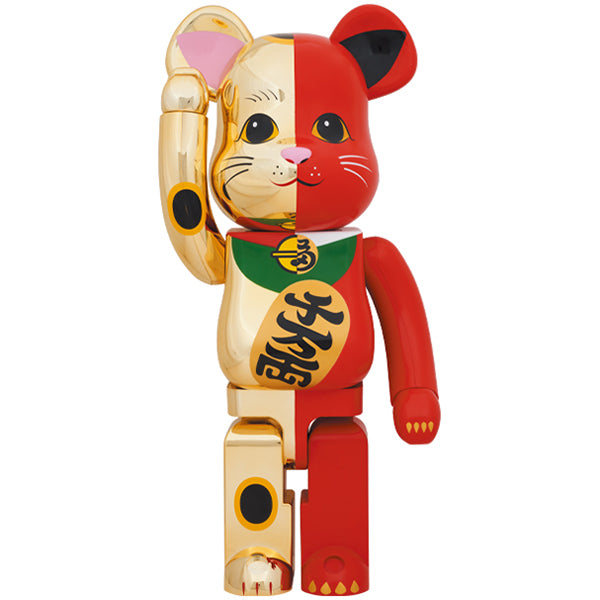 BE@RBRICK Manekineko Gold×Red 1000%