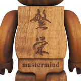 BE@RBRICK 400% Karimoku mastermind JAPAN Walnut Moku