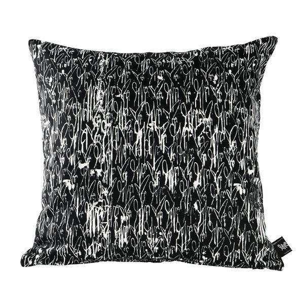 "Curtis Kulig SQUARE CUSHION ""ALL OVER"""
