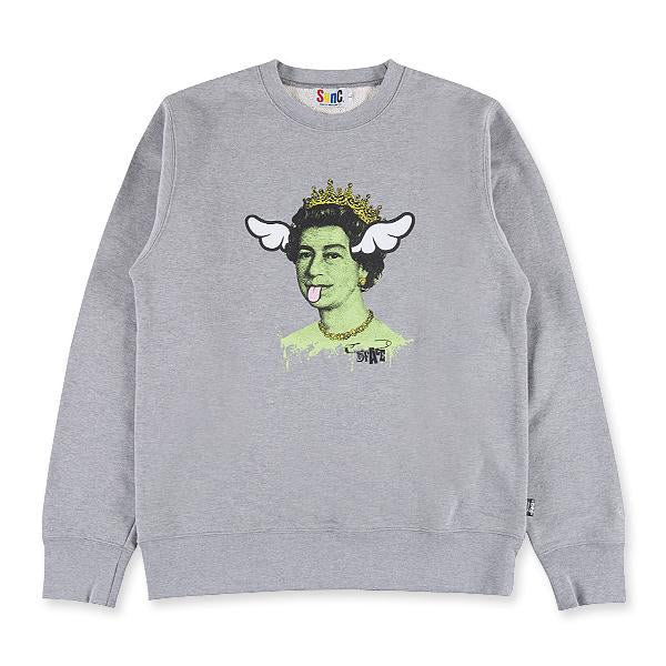 D*FACE CREW NECK SWEAT DSTQ