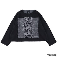 "KNIT GANG COUNCIL ""JOY DIVISION"" CREW NECK SWEATER ""UNKNOWN PLEASURES""《2020年9月発売予定》"