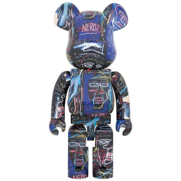 BE@RBRICK JEAN-MICHEL BASQUIAT #7 1000%《Planned to be shipped in late March 2021》