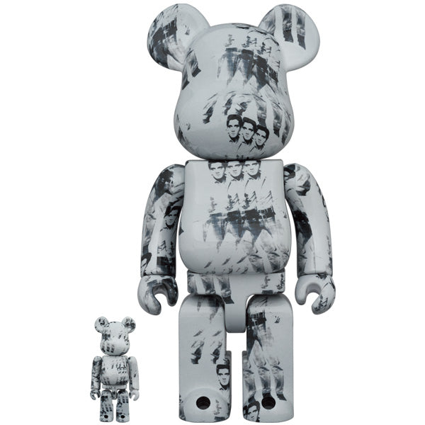 BE@RBRICK Andy Warhol's ELVIS PRESLEY 100% & 400%《Planned to be shipped in late March 2021》