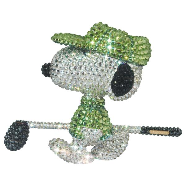 UDF CRYSTAL DECORATE SNOOPY GOLFER SNOOPY《2021年2月より順次発送予定》