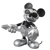 UDF ROEN collection MICKEY MOUSE (GRUNGE ROCK Ver.) BLACK & SILVER