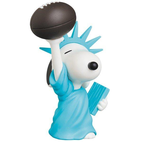 UDF PEANUTS シリーズ9 STATUE OF LIBERTY SNOOPY