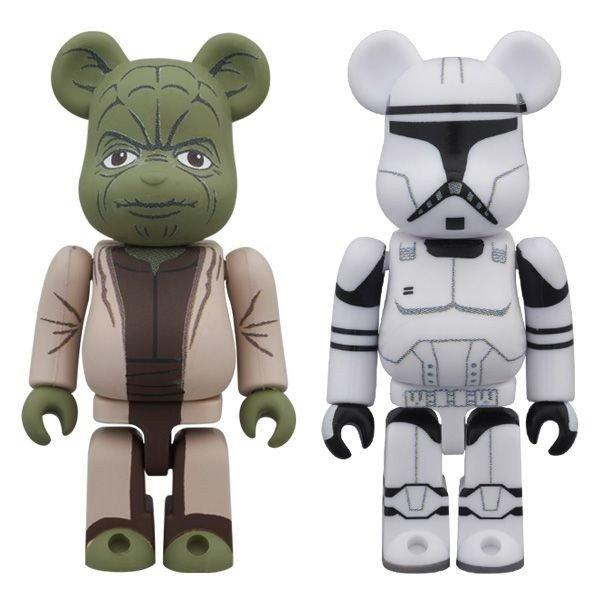 YODA(EP2) & CLONE TROOPER(TM)(EP2) BE@RBRICK STAR WARS 2PACK