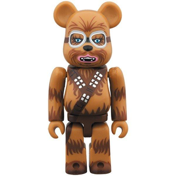 BE@RBRICK CHEWBACCA(TM) (Han Solo Ver.) 100%