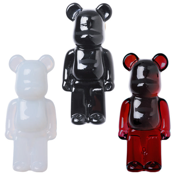 Baccarat BE@RBRICK pin brooch