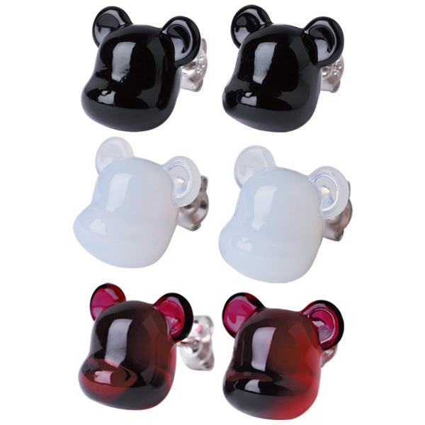 Baccarat BE@RBRICK earrings