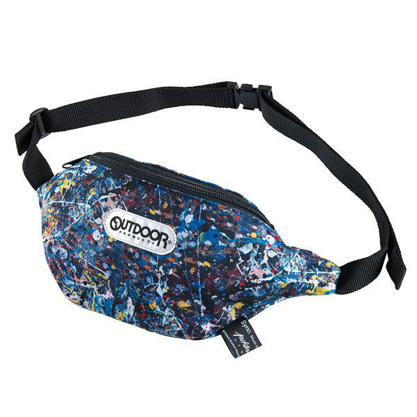 "WAIST BAG ""Jackson Pollock Studio"" made by Outdoor Products"