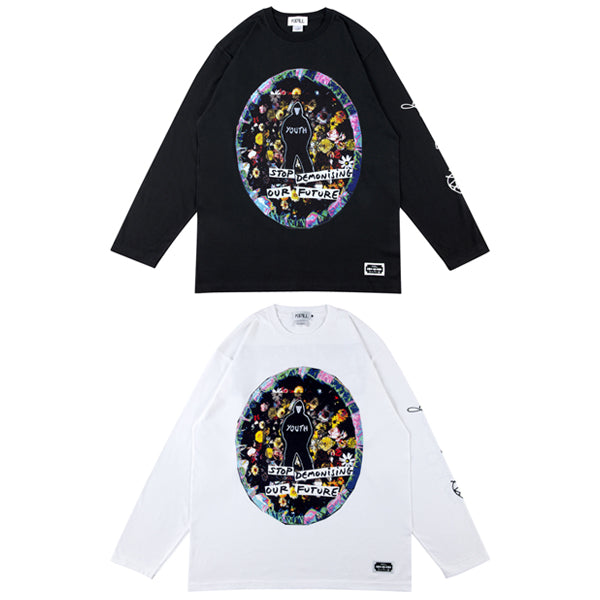 KIDILL×JAMIE REID LONG SLEEVE TEE 「YOUTH」
