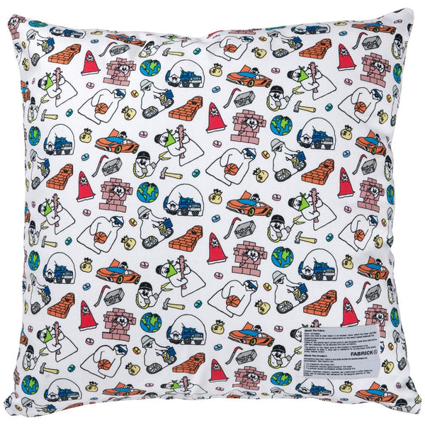 MLE FABRICK × SHINKNOWNSUKE SQUARE CUSHION COVER+PILLOW《2021年7月発売予定》