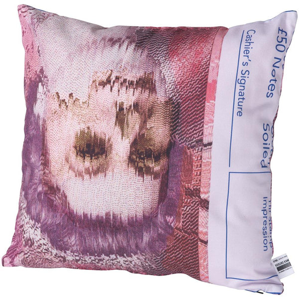 "Sync. KOSUKE KAWAMURA SQUARE CUSHION ""The Queen Is Dead""《2021年8月発売予定》"