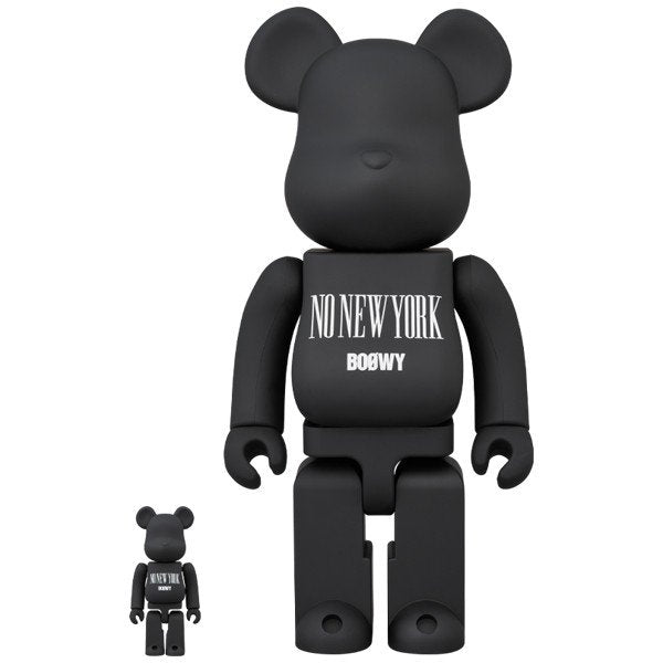 "BE@RBRICK BOOWY ""NO NEW YORK"" 100% & 400%"