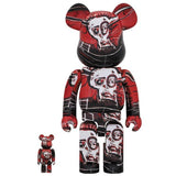 BE@RBRICK JEAN-MICHEL BASQUIAT #5 100% & 400%