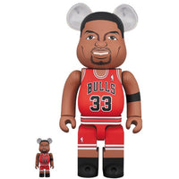 BE@RBRICK Scottie Pippen(Chicago Bulls) 100% & 400%
