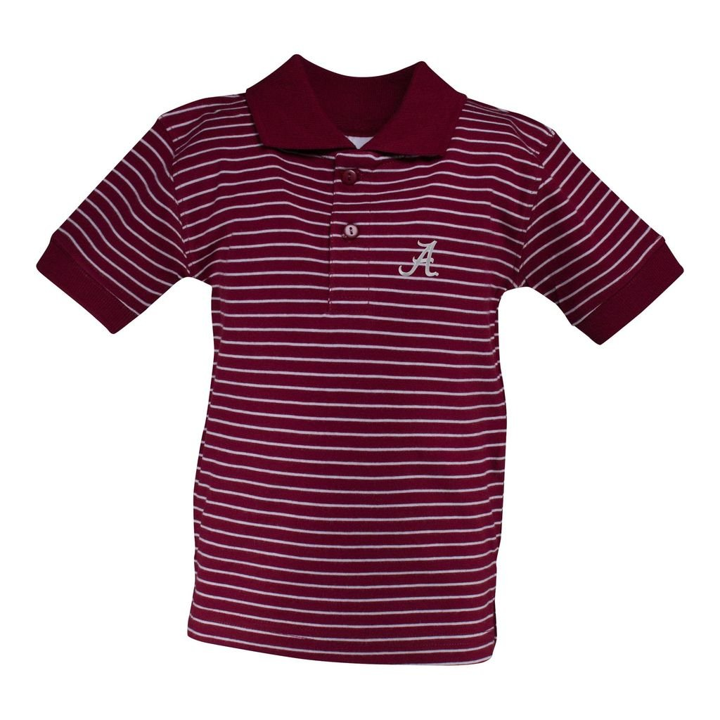 Alabama Stripe Jersey Golf Shirt
