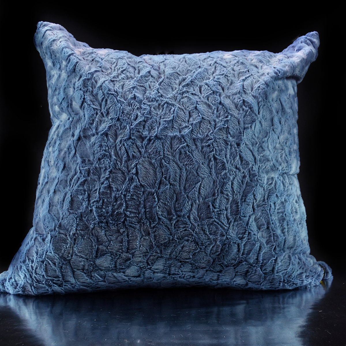 Luxe´Goyard Blue Custom Pillow
