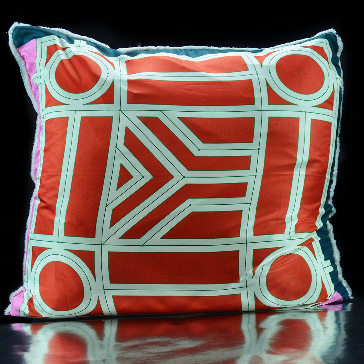 Luxe´Goyard Multi Color Custom Pillow