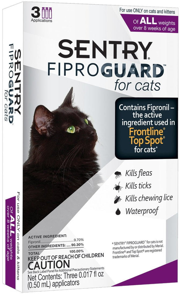 SENTRY FiproGuard for Cats
