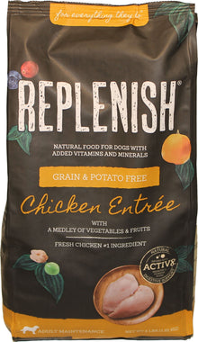 Replenish K9 Dog Food with Active 8