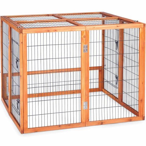 Prevue Pet Rabbit Playpen/ Chicken Run - Large