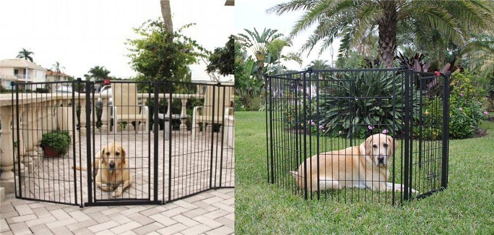 Carlson Extra Tall 12 ft x 3 ft Outdoor/ Yard Super Gate