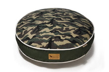 Camouflage Green Eco-Friendly Pet Bed - Round