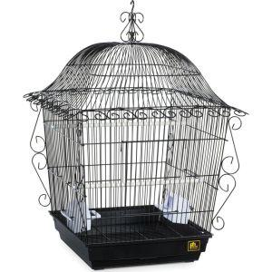 Prevue Pet Products - Scrollwork Bird Cage - Black - 18X18X25 Inch