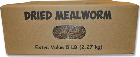 Mealworms To Go Dried Mealworms