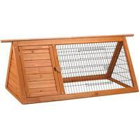Ware Rabbit/ Bird / Small Animal  Premium Plus Backyard Hutch - Natural