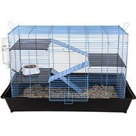 Ware Bird / Small Animal - Critter Ware Mess Resistant Cage - Blue - 35 Inch