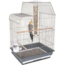 Ware Pet Products Bird Central Cockatiel/Conure Cage -Gray/White
