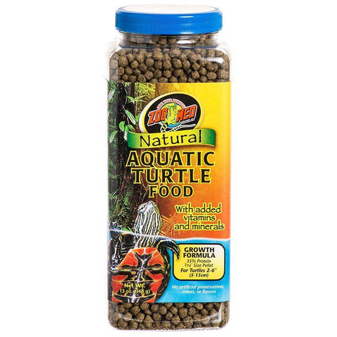 Zoo Med Laboratories Natural Aquatic Turtle Food (Pellets)