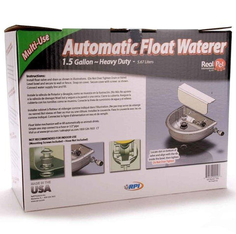 Tough Guy Automatic Waterer, 1-1/2 gal