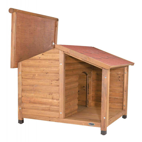 Image of Trixie Pet Natura Lodge Dog House Brown