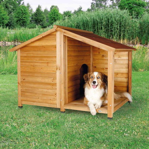 Trixie Pet Natura Lodge Dog House Brown