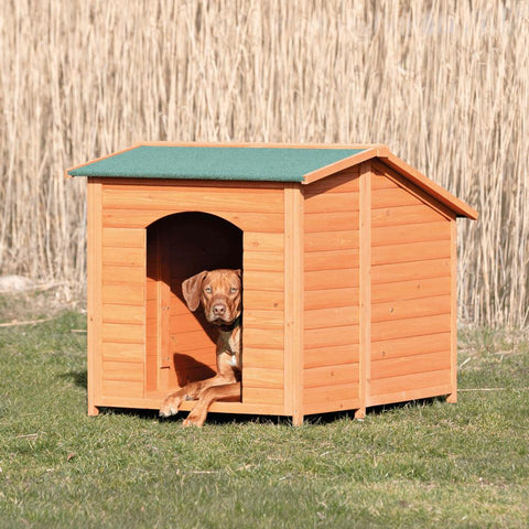 Image of Trixie Pet Natura Club Dog House Brown XXL