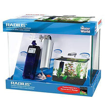 Penn Plax Radius Curved Corner Glass Aquarium Kit- 5 Gallons