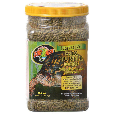Zoo Med Laboratories Natural Box Turtle Food - Pellets