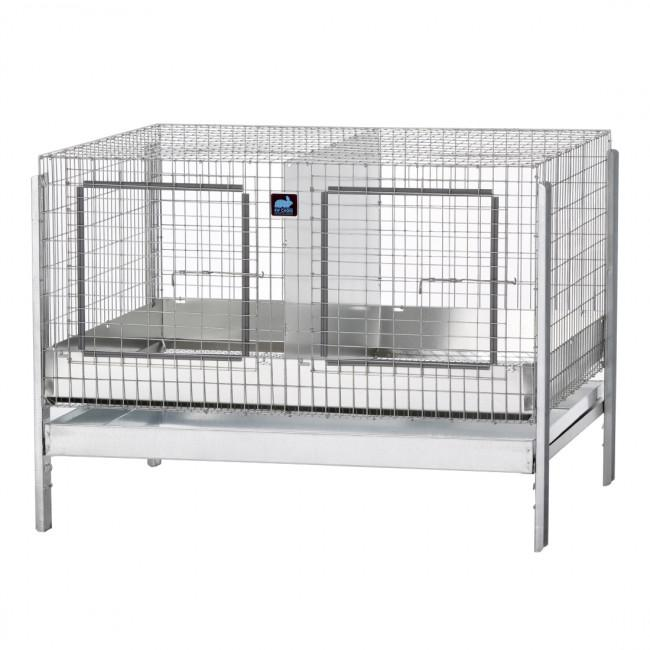 KW Cages Series 4000 Stacking Cage, Heavy Duty For Full Size Large Breeds